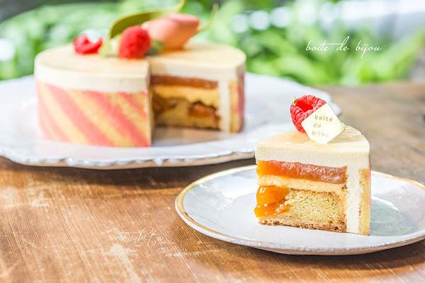 珠寶盒法式點心坊-蜂蜜馬斯卡彭自釀金桔的好吃母親節蛋糕,非常推薦送給媽媽當禮物