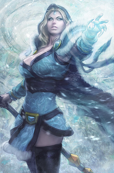 Photo: Crystal Maiden by Stanley Lau