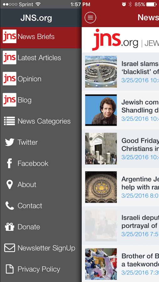 JNS.org- screenshot