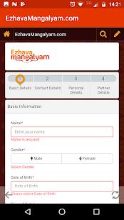 Ezhava Mangalyam Matrimony - náhled
