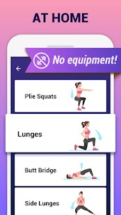 Buttocks Workout - Hips, Legs & Butt Workout Screenshot