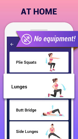 Buttocks Workout - Hips, Legs & Butt workout 1.0.21 screenshot 2092882