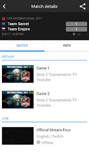 Toornament eSports - náhled