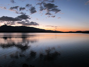 Photo: Jackson Lake sunset