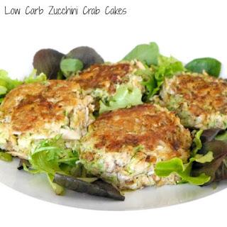 Low Carb Zucchini Crab Cakes.