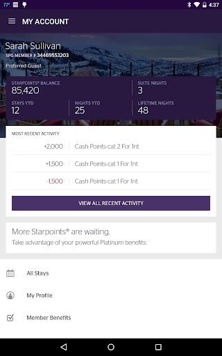 SPG: Starwood Hotels & Resorts  screenshots 12