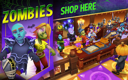 Shop Titans: Epic Idle Crafter, Build & Trade RPG 2.2.1 screenshots 1