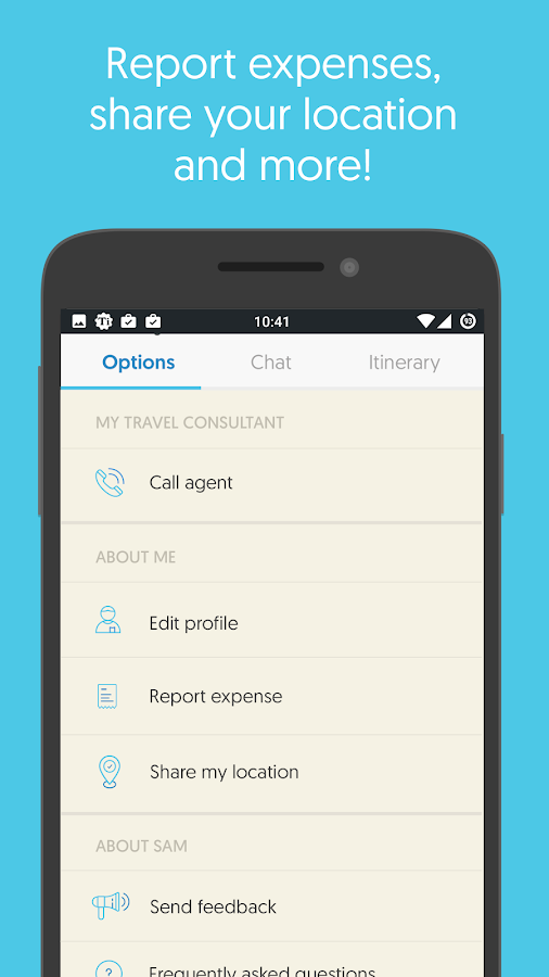 Sam - Trip Planner & Assistant- screenshot