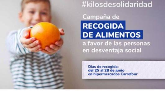 Cadena SER, Cruz Roja y Carrefour inician la campaña #Kilosdesolidaridad