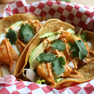 Fishless Tacos With Chipotle Crema