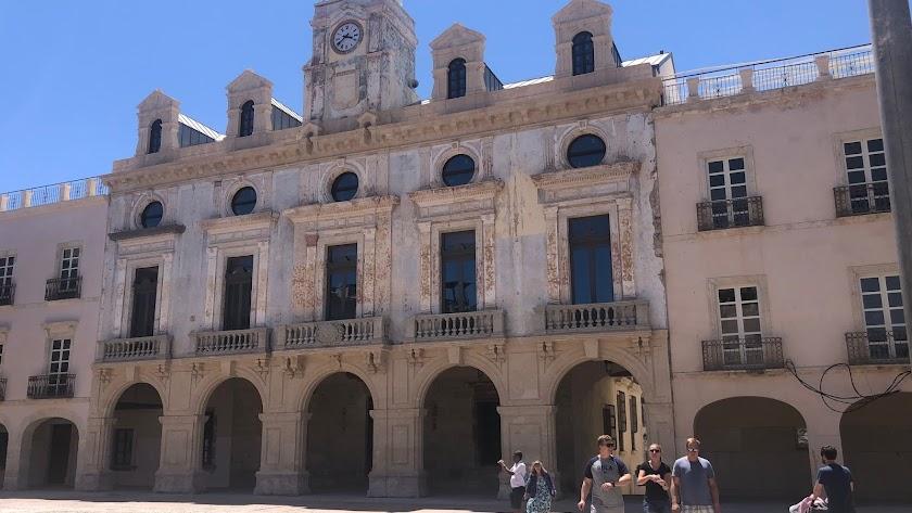 Fachada de la Casa Consistorial de la capital