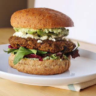 Pumpkin & Black Bean Burgers