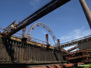 Photo: Zeche Zollverein, eine passende Location!