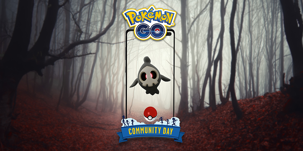 October Community Day: Duskull, the Requiem Pokémon, will be featured!