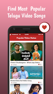 Telugu Video Status App Download For Android and iPhone 3