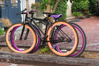 Photo: Brightly colored bike tires all the rage