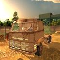 Heavy Truck Driver Danger Road icon
