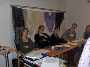 Photo: Workshop i Estnisk spetsstickning med Triinu Andreasen