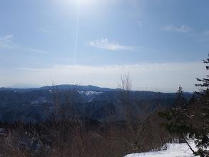 山頂付近からの展望