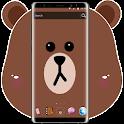 Brown Bear Cartoon Theme icon