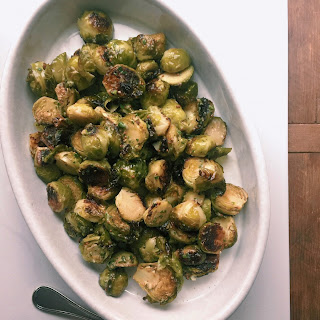 Warm Brussels Sprouts Salad Recipe
