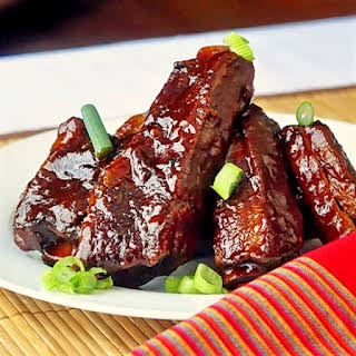 Maple Chipotle Barbeque Braised Ribs.
