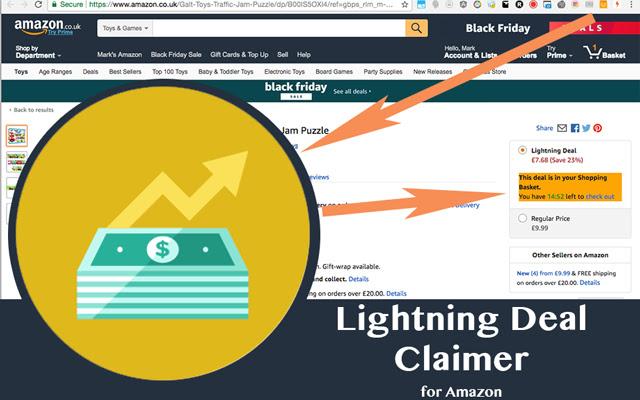 Lightning Deal Claimer for Amazon