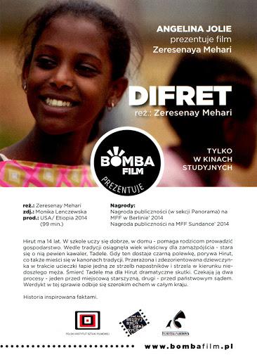 Przód ulotki filmu 'Difret'