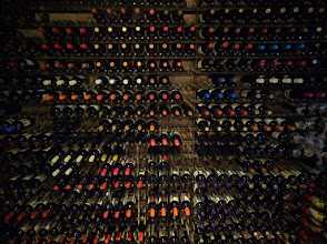 Photo: Their wine cellar, which customers are allowed to tour