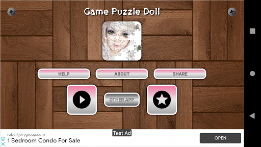 Cute And Beautifull Doll Game Puzzle android2mod screenshots 2