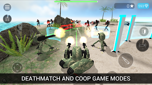 CyberSphere: TPS Online Action-Shooting Game screenshot 2