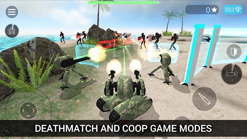 Screenshot 2 CyberSphere: TPS Online Action Game 1.73 APK MOD