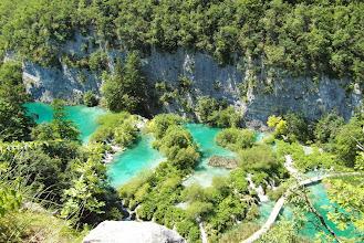 Photo: Widok z góry na jeziorka i kaskadi