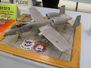 Photo: This 1/32nd A-10 took the Peoples Choice.
