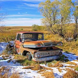 Where Am I ? by James Oviatt - Transportation Automobiles