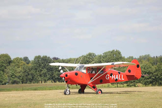 Photo: Schaffen Fly in 2013 08 17 Piper PA-22-160 Tri Pacer C/N 22-7423 G-HALL