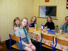 Photo: Harcerska nocka w szkole (28.01.2014)
