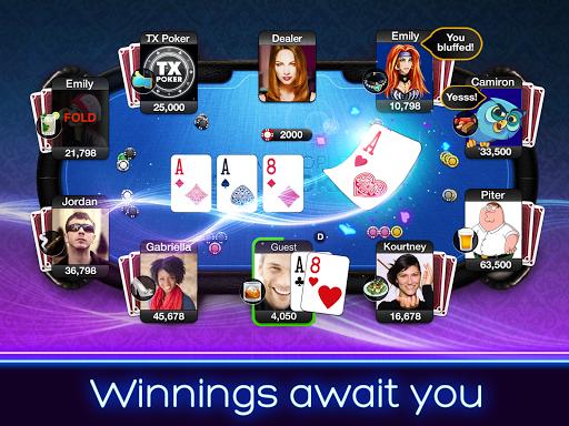 TX Poker - Texas Holdem Poker 2.35.0 Mod screenshots 2