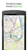Screenshot of Mapy.cz