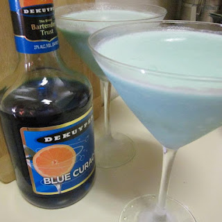 Creamy Blue Daiquiri