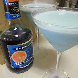 Creamy Blue Daiquiri.