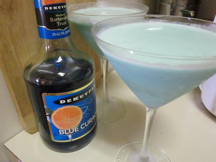 Creamy Blue Daiquiri Recipe