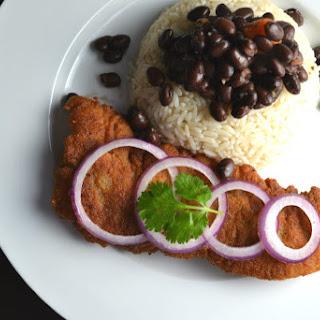 Bistec Empanizado (Cuban Breaded Steak).