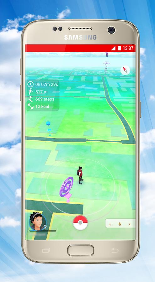 PokeFit for Pokémon GO - στιγμιότυπο οθόνης
