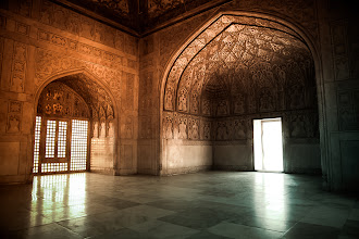 Photo: Agra in India has two World Heritage Sites, Taj Mahal and the somewhat lesser known Agra Fort. This is a photo from the Agra Fort.