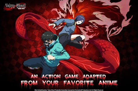 Tokyo Ghoul: Dark War Apk Download For Android and Iphone 7