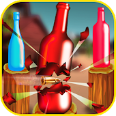Furious Bottle Shooter: Shooting Game
