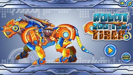 スナップ機械虎:機械の動物園シリーズ——パズルゲーム