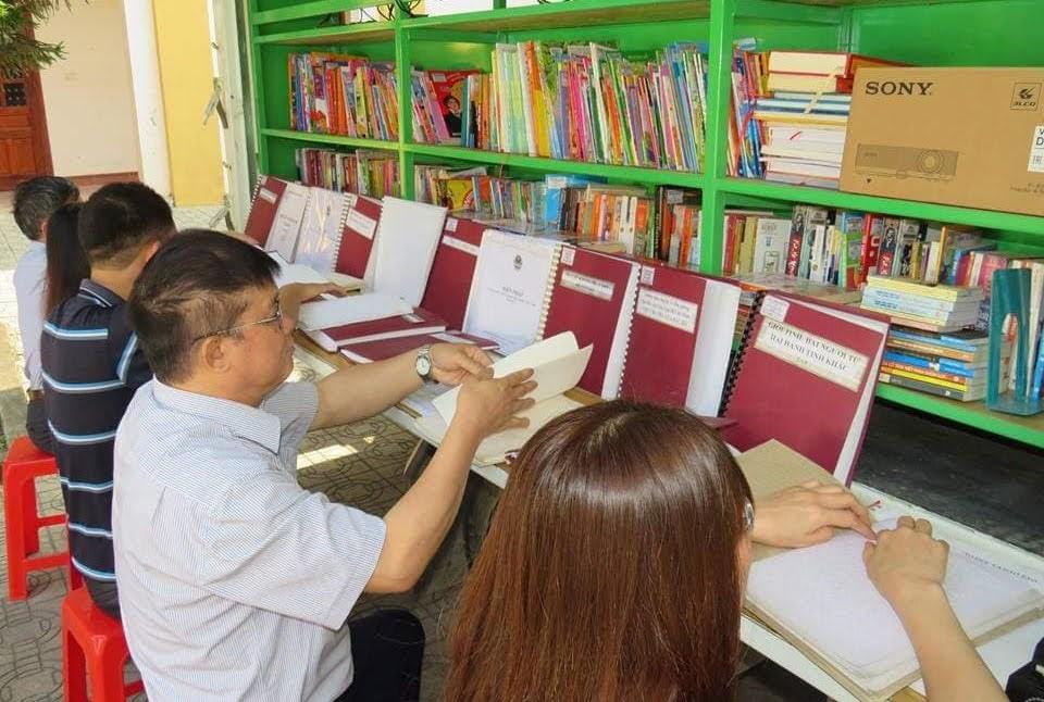 Đưa văn hóa đọc đến với người khiếm thị tại cơ sở