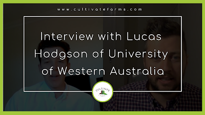Interview with Lucas Hoson of University of Western Australia
